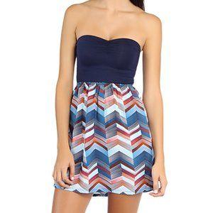 Roxy Savage Strapless Dress